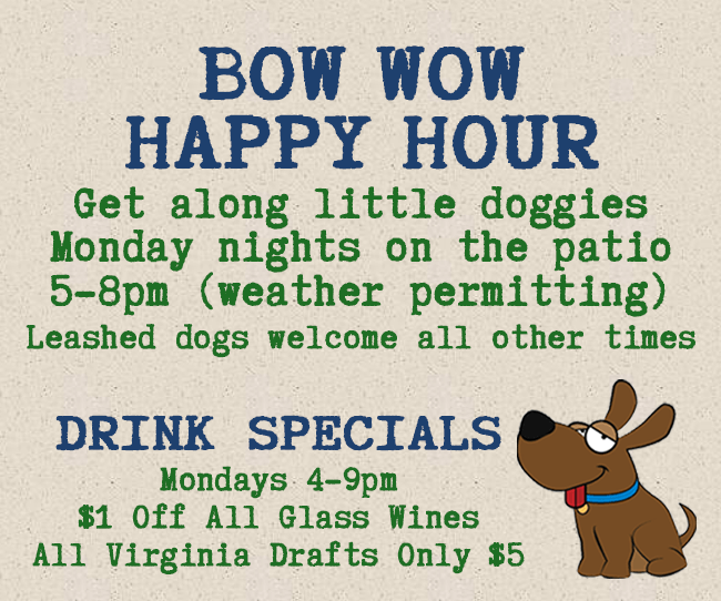 Bow Wow Happy Hour